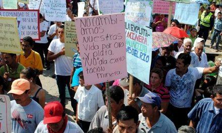 El gobierno hondureño seduce a las mineras pero vulnera derechos humanos