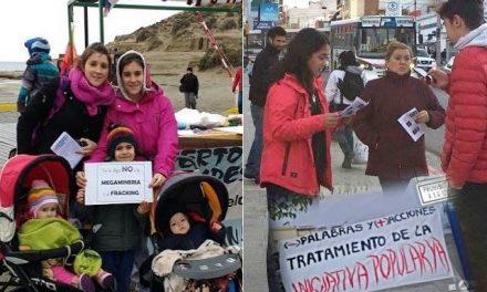 Movidas en seis ciudades de Chubut por el día Mundial de Lucha Contra la Megaminería