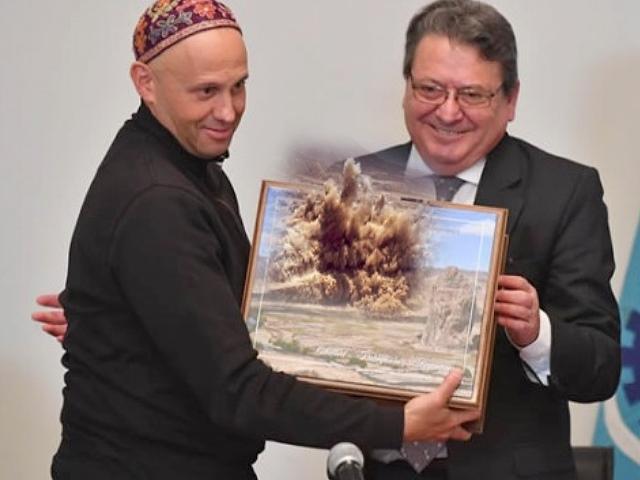 Bergman estuvo en Chubut y pidió abrir el debate por la minería en la provincia
