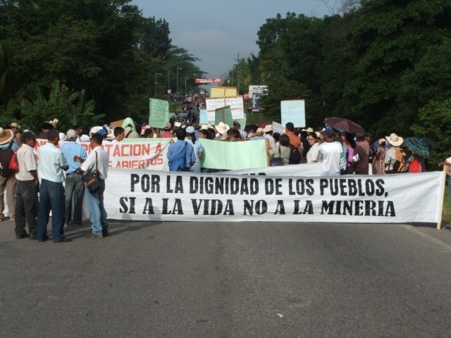 La minería es fuente de conflictos y violencia en Honduras