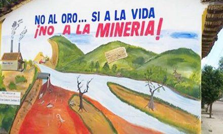 En Zanatepec difunden efectos negativos de la minería con murales