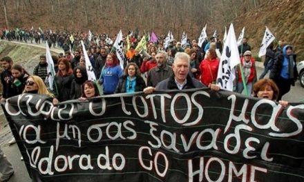 """""""El proyecto minero de Skouries no traerá ningún beneficio para Grecia"""""""