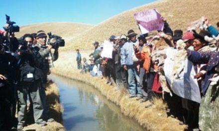 Regantes de Lampa y Melgar se unifican contra la contaminación minera en defensa de cuencas hídricas