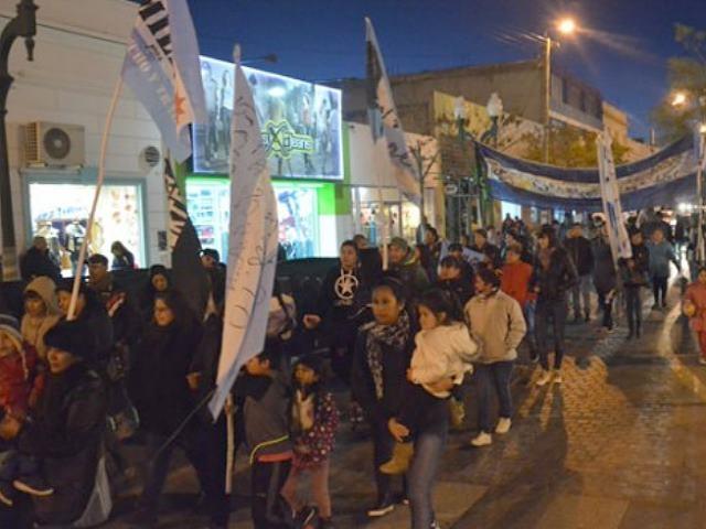 Se realizó en Trelew nueva marcha contra la Megaminería