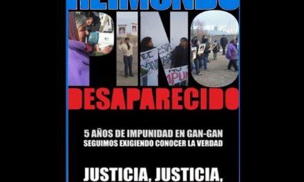 Reimundo Pino, 5 años desaparecido en la meseta chubutense