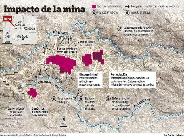 Abandonaron 26 años la mina de uranio Los Gigantes, ahora prometen iniciar su remediación en 2017