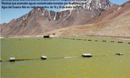 Barrick lanzará aguas contaminadas y material nuclear desde Pascua Lama