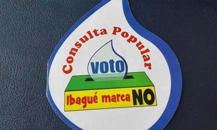 En octubre se haría la consulta popular minera en Ibagué