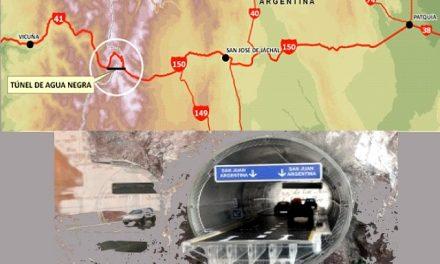 Túnel internacional Agua Negra: Cumpliendo el IIRSA y beneficiando a las grandes mineras