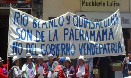 Concejo Cantonal de Cuenca demandó detener el proyecto minero Río Blanco