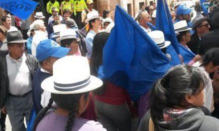 Comuneros solicitan moratoria minera en Cuenca