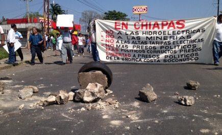 Sin autorización ambiental, mineras explotaron tierras protegidas de Chiapas y contaminaron ríos