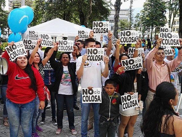 Informe sobre proyecto La Colosa re-enciende el debate sobre la gran minería