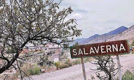 Ahogamiento sobre Salaverna por parte del gobierno a favor de minera