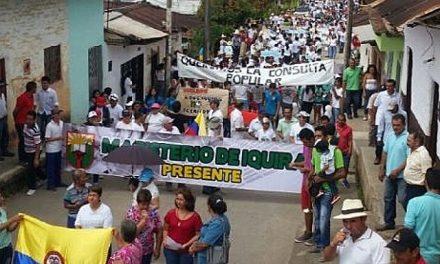 Íquira dice NO a proyectos minero-energéticos