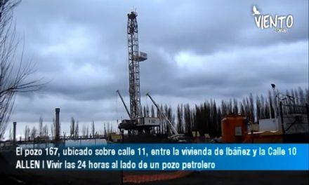 Allen: Así es vivir 24 horas al lado de un pozo petrolero de fracking