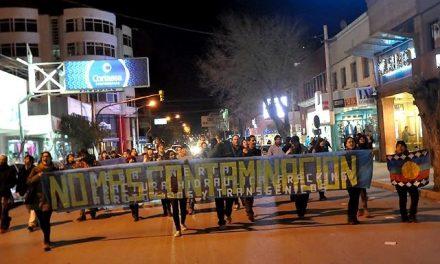 Marcharon en Trelew por el proyecto de ley para prohibir la megaminería