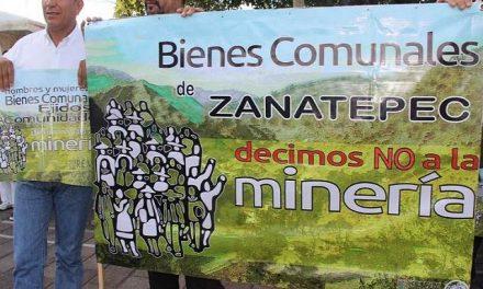 Reiteran en Zanatepec rechazo a minera