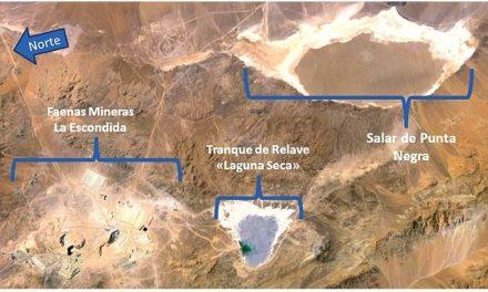 """Crimen Ambiental de minera BHP Billiton al """"secar"""" rico ecosistema acuífero"""