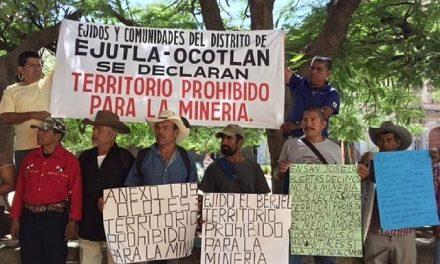 Autoridades comunales se oponenen a proyectos mineros en Oaxaca