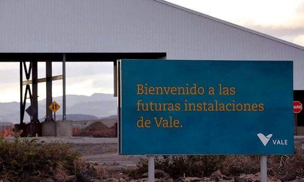 Minera Vale arma una licitación para vender su proyecto minero en Mendoza