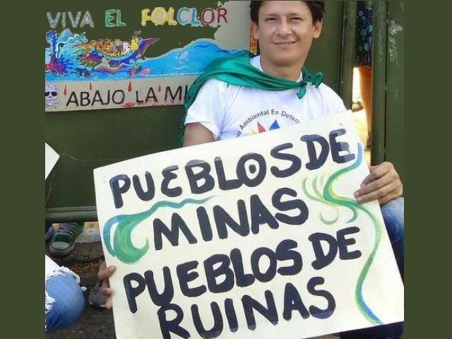 """""""La minería arrasa con los derechos de los pueblos y la naturaleza"""""""