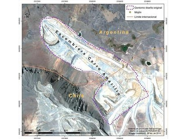 Habilitan un paso provisorio para que se retorne a Chile la basura minera volcada en San Juan