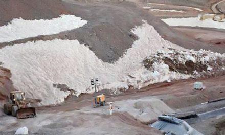 Por el derrame minero, un fiscal pide el secuestro de documentos del Instituto Argentino de Nivología y Glaciología