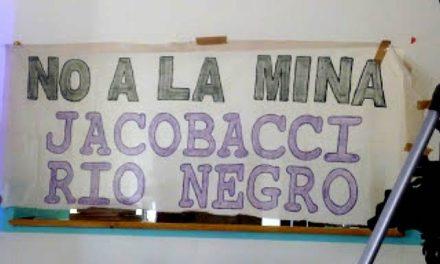 Amenaza megaminera en Jacobacci