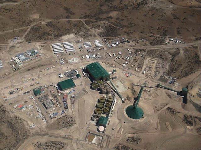 Trabajador minero accidentado en mina de Goldcorp donde sus obreros hicieron paro por malas condiciones de seguridad