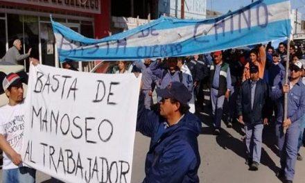 Siete días de paro en la minera subsidida por el estado en Sierra Grande