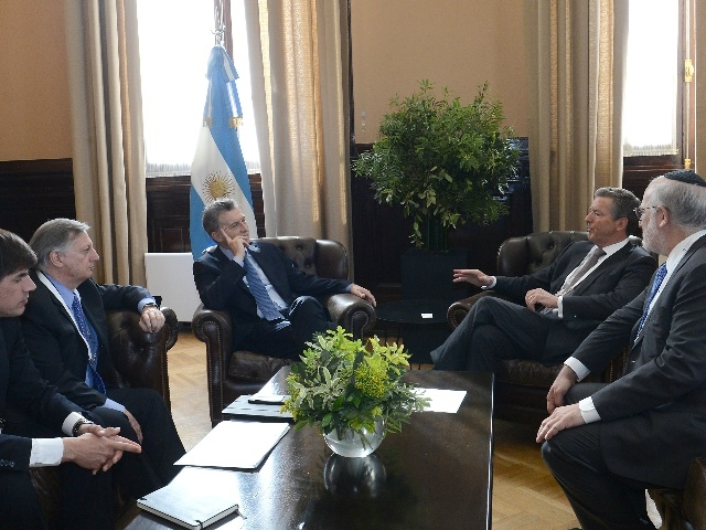 Pan American Silver le anunció a Macri que invertirá U$S 1.000 millones en el proyecto Navidad