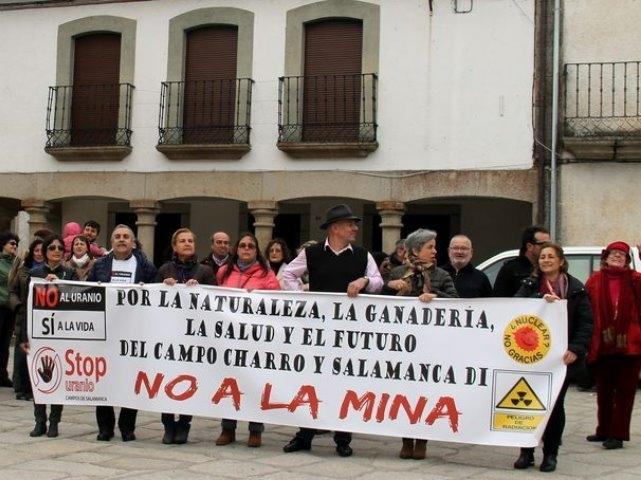 Más de 500 alegaciones contra la mina de uranio en Salamanca
