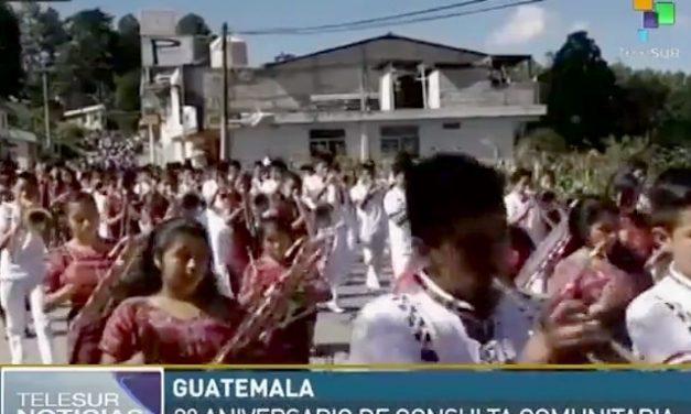 Pueblo maya de Momostenango celebra los tres años de la consulta contra explotación minera