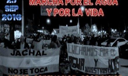 Marcha sobre la ciudad de San Juan para exigir el cierre, remedición y prohibición