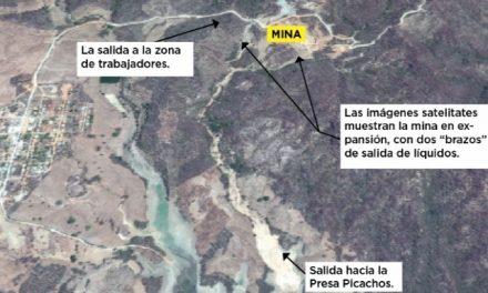 Mina de oro vierte desechos tóxicos a presa Picachos