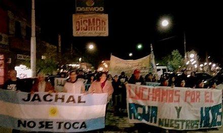 «Ni una piedra más», el grito en el aniversario del derrame de solución cianurada de mina Veladero