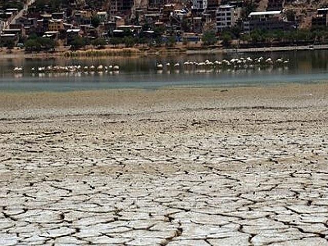 El cambio climático y la mineríaa inciden en la baja del caudal en cuatro lagunas en Cochabamba