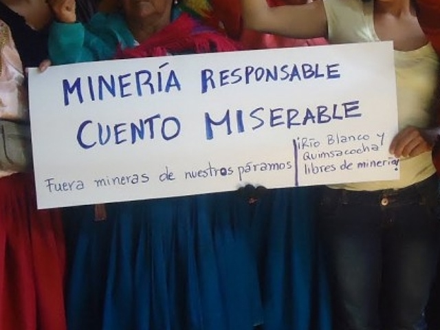 Cámaras mineras de Canadá y Argentina: La narración del cuento de la minería sustentable