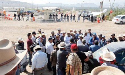 Afectados por la mina Peñasquito concluyen protesta de 12 días