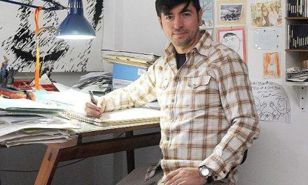 """El dibujante al que le que usaron sus dibujos para los libritos pro mineros en San Juan: """"Me dio vergüenza"""""""