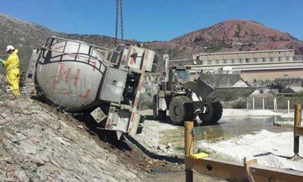 Analizan daños por nuevo derrame tóxico en mina de Grupo México en Nacozari