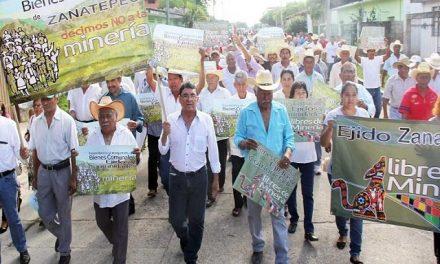 Alcalde de Santo Domingo Zanatepec rechaza toda actividad minera