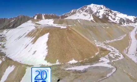 Informe televisivo sobre miles de toneladas de basura minera que una empresa chilena acumuló en Argentina