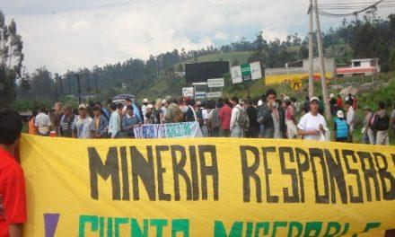 Mineras reconocen que usan la careta de la tecnología y los altos estándares para despojar y contaminar