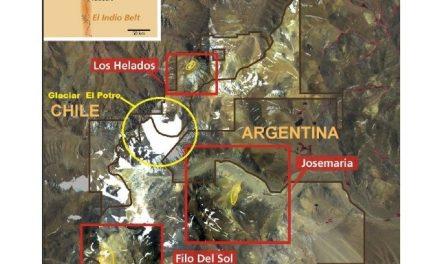 Otro proyecto minero binacional planean en las nacientes y glaciares de la cordillera