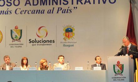 Intendente de Ibagué defendió ante el presidente Santos la consulta minera