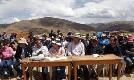 Minera china quiere dialogar porque el conflicto con comuneros la está afectando