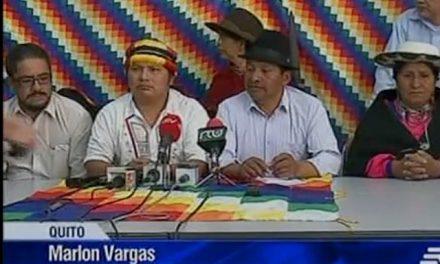 Indígenas shuar rechazan minería y piden retiro de fuerzas policiales y militares