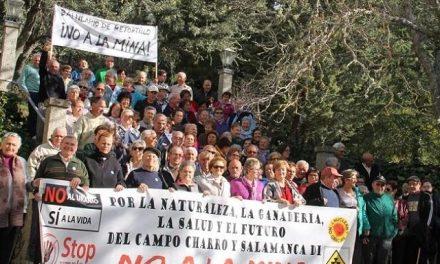 Los usuarios del balneario de Retortillo, contra la mina de uranio